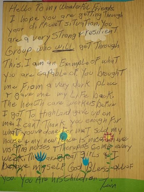 Testimonial from Tim
