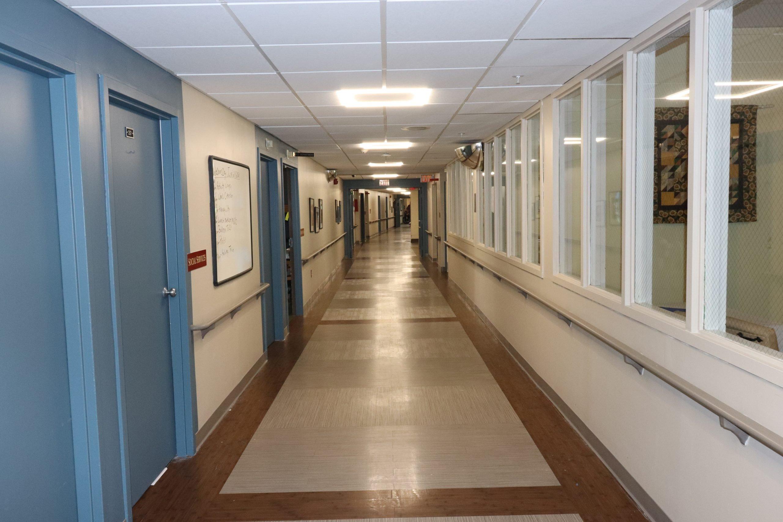 Renovation - hallway